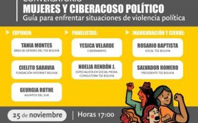 TSE proporciona datos y líneas de acción conmemorando el Día Internacional de Eliminación de la Violencia contra la Mujer