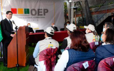 Se inaugura la jornada electoral en Chuquisaca, Tarija, Pando y La Paz