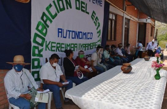 El TSE supervisó la aprobación del Estatuto Guaraní Kereimba Iyambae y abre paso para la elección de autoridades