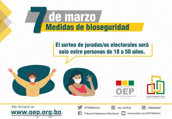 El TSE consolida 7 medidas de seguridad para la Elección del 7 de marzo