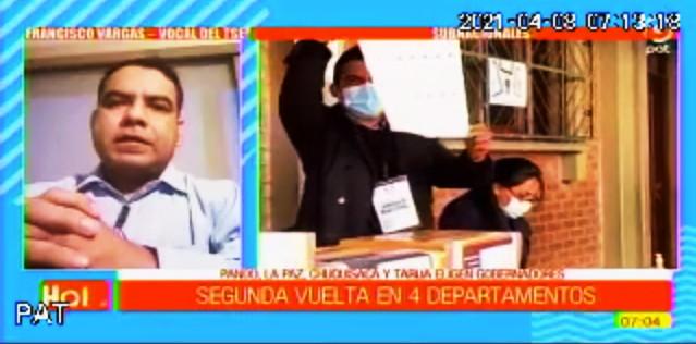 El TSE y cuatro TED transmitirán en directo el cómputo de votos de la segunda vuelta electoral en Chuquisaca, La Paz, Pando y Tarija
