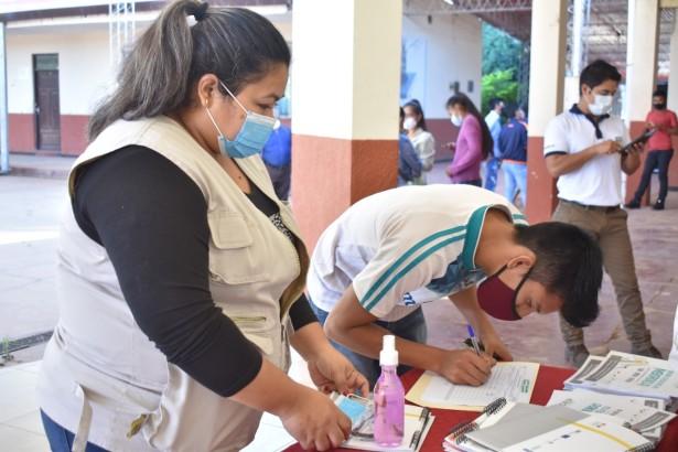 Estudiantes y maestros de Charagua se preparan para la elección de gobiernos estudiantiles