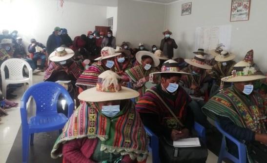 Autoridades originarias de Uncía reciben capacitación sobre derecho a la identidad, registro oportuno y correcto llenado de certificaciones