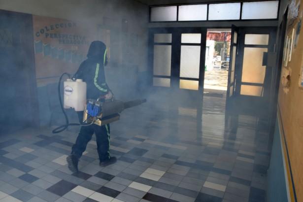 El TED Cochabamba dispone la fumigación de los recintos electorales para la elección de Comteco R.L.