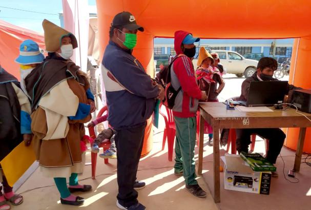 El Serecí Oruro registró partidas de nacimiento de niños de 0 a 12 años en la nación Uru Chipaya