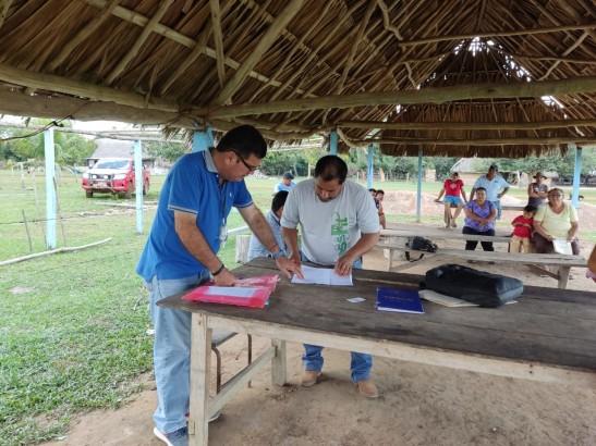 TED Beni realiza inspección de recintos y asientos electorales