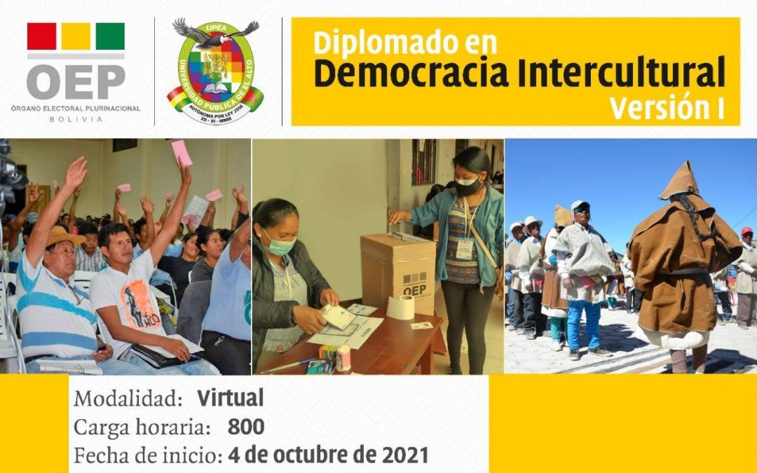 TSE y UPEA presentan el primer Diplomado en Democracia Intercultural