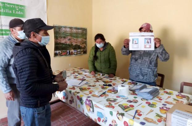 TED Chuquisaca supervisa la elección de la Cooperativa de Servicios Públicos de Padilla