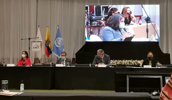 El OEP participa en foro internacional sobre el impacto de la pandemia y las noticias falsas en elecciones