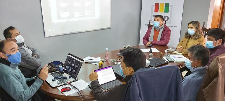 El TED Tarija y el PNUD coordinan una agenda de trabajo para fortalecer el ejercicio democrático en ese departamento