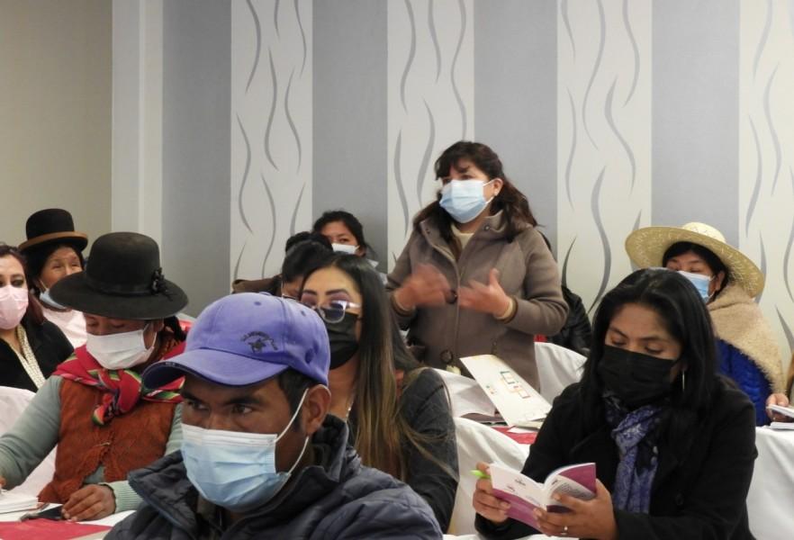 Oruro: asambleístas mujeres impulsarán la conformación de una Comisión de Ética para proteger sus derechos