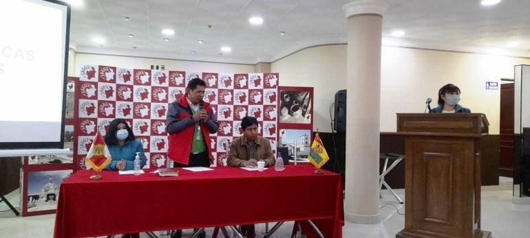 Autoridades de 41 municipios de Potosí se informan sobre cartas orgánicas