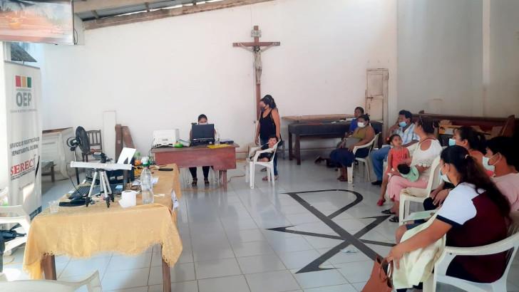 Feria en Santa Ana del Yacuma: Serecí del Beni emitirá certificados de nacimiento y realizará saneamiento documental