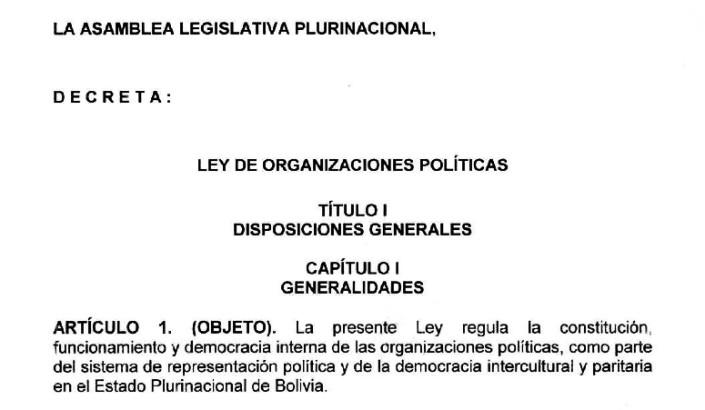 Agrupaciones ciudadanas de alcance nacional tienen hasta el 31 de diciembre para efectuar la conversión a partido político