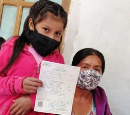 """Pobladores de la localidad de Sañonama, en Santa Cruz, fueron capacitados en """"Derechos de identidad de la niñez"""""""