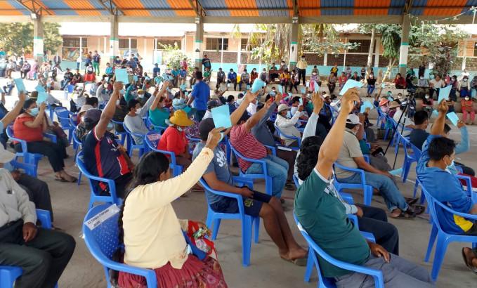 Alto Beni: TED La Paz supervisa la elección de autoridades de los consejos de Administración y Vigilancia de la cooperativa San Antonio
