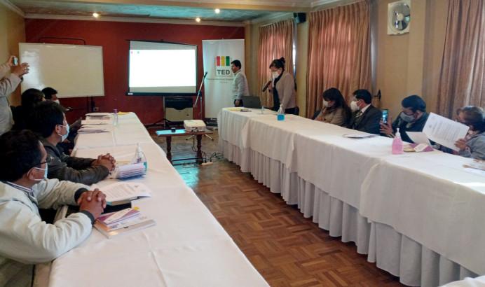 El TED Potosí socializa Protocolo de Supervisión a elecciones de la sociedad civil con colegios de profesionales del departamento
