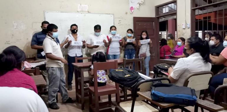 El centro de educación alternativo Santísima Trinidad se prepara para elegir su gobierno estudiantil