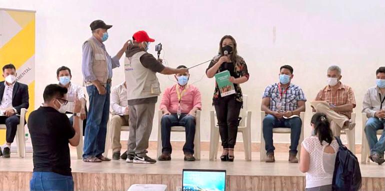 Monteagudo: el TED Chuquisaca socializa la normativa que rige el ejercicio de la democracia intercultural y paritaria