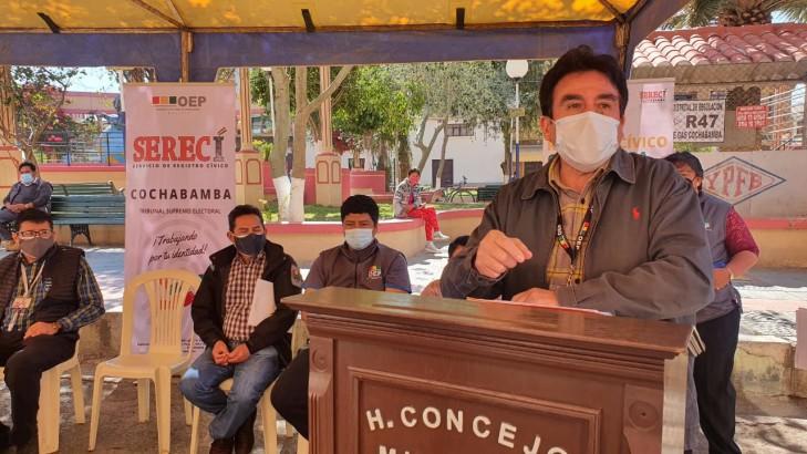 Serecí beneficiará a pobladores de 10 municipios del valle alto con la campaña de saneamiento documental