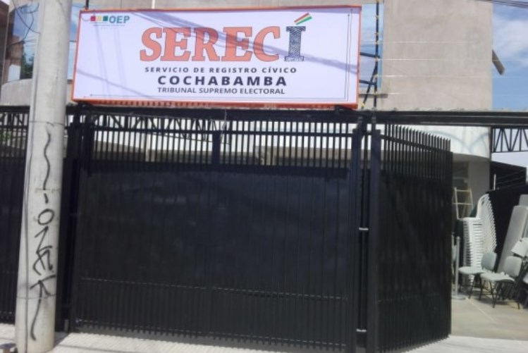 El Serecí estrena su nueva oficina desconcentrada en Cochabamba con la presencia de autoridades del OEP